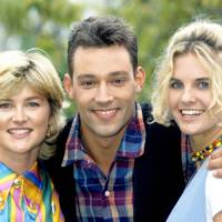 Toby Anstis with Anthea Turner & Andrea Boardman