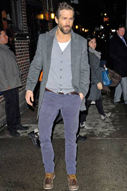 Best Dressed Man: Ryan Reynolds
