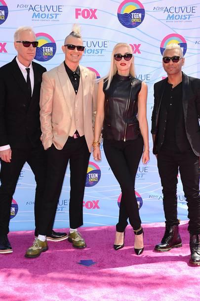 No Doubt at the Teen Choice Awards 2012