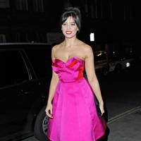 Daisy Lowe at the British Heart Foundation party