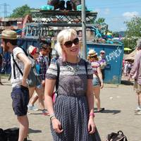 Kirsty Hall, Glastonbury Festival