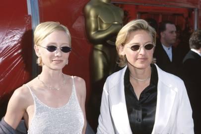 Anne Heche and Ellen DeGeneres, 1999