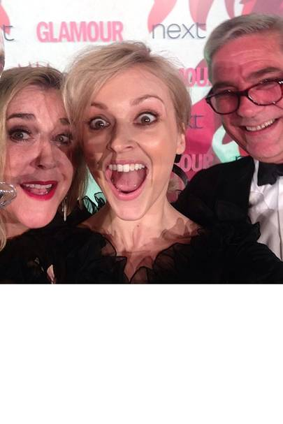 Fearne Cotton & Steph and Dom from Gogglebox
