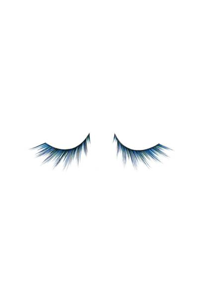 Radiant Blue False Eyelashes