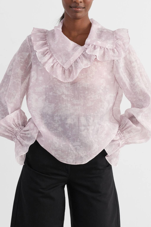 Femmes Maille bulle soufflé haut à manches longues Casual Blouse Fashion Party Top UK