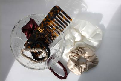 100% Mulberry Silk Scrunchies by Lionheart The Label