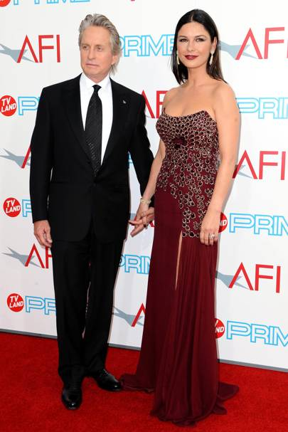 Catherine Zeta-Jones + Michael Douglas = 74%