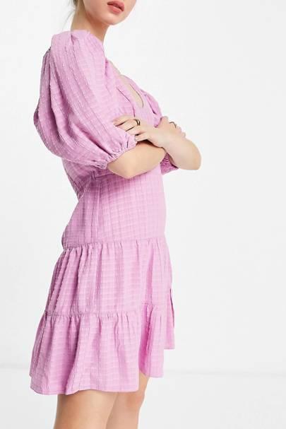 Puff sleeve ASOS dress