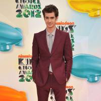 Andrew Garfield at the Kids' Choice Awards 2012