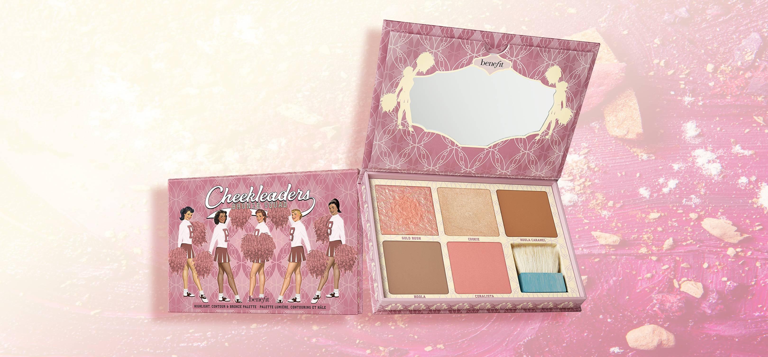 Cheekleaders Pink Squad Mini Cheek Palette by Benefit #15