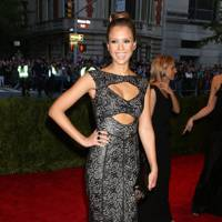 Jessica Alba at the Met Gala