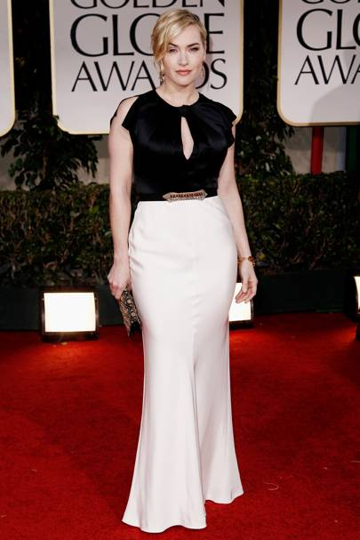 Kate Winslet at the Golden Globes 2012