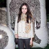 Knit Wit – Lily Collins