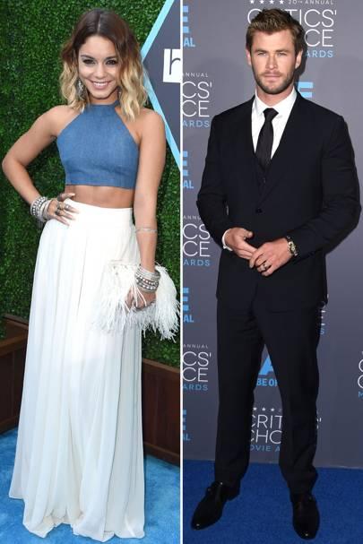 Glamour: Vanessa Hudgens & Chris Hemsworth
