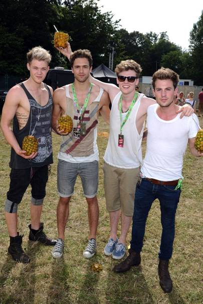 Lawson in the Virgin Media Louder Lounge 2012