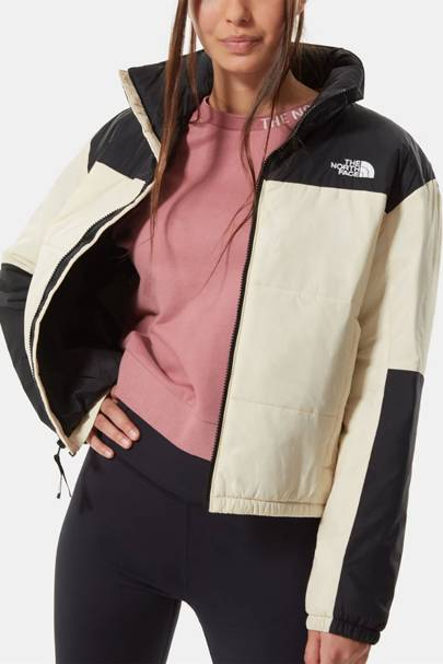 The North Face Puffer Jacket Women: the monochrome puffer