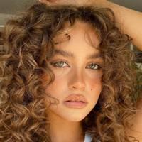 Sun-kissed curls