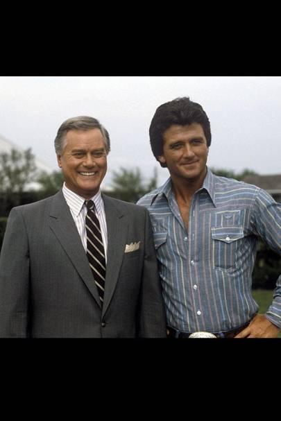 J.R & Bobby Ewing