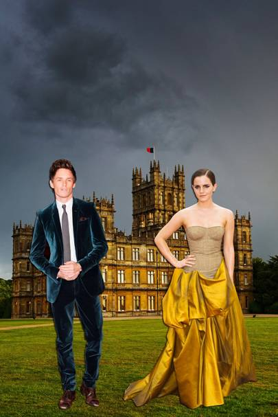 Eddie Redmayne & Emma Watson To Star In Downton Abbey