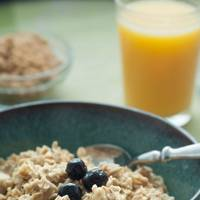 Oatmeal and Orange Juice