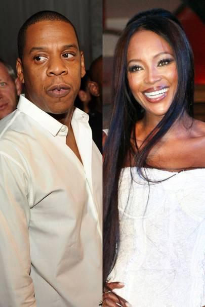 Naomi Campbell and Jay-Z