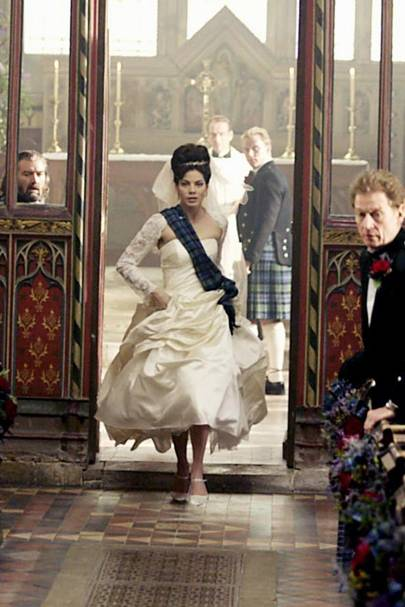 Wedding movies list bridesmaids 27 dresses glamour uk for Made of honor wedding dress