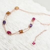Aline Necklace by Alkemeya Jewels