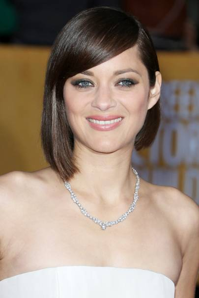 Sleek & Straight - Marion Cotillard