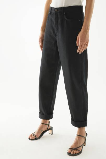 Best Black Jeans - Tapered Leg