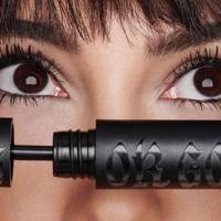 I tried the sell-out Kat Von D mascara and it was better than false lashes