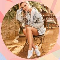 This is the Perrie Edwards-approved white trainer everyone will be wearing this summer