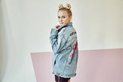 d26205a5715 Zara Larsson for H M  Pictures   Collection Photos