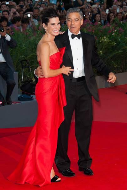 Sandra Bullock & George Clooney