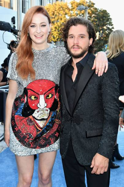 5ft 9in: Sophie Turner