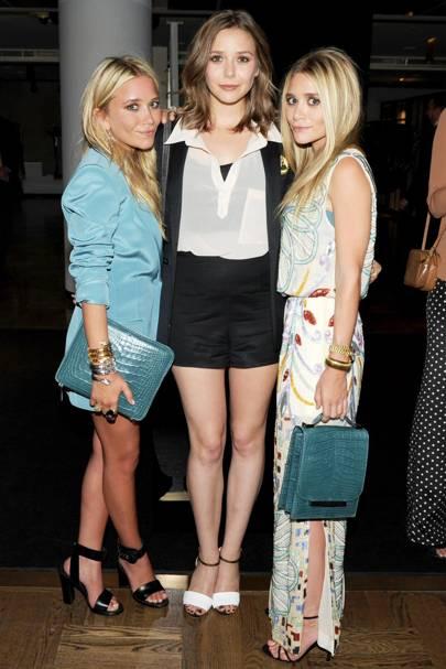 Ashley, Mary Kate & Elizabeth Olsen