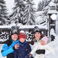 First family ski trip