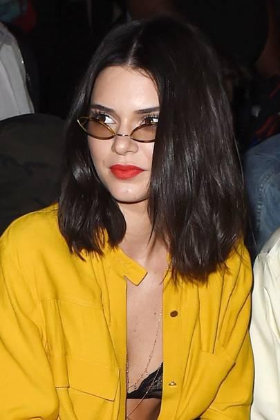 Kendall Jenner New Short Hair Haircut 2016 Glamour Uk