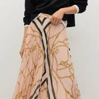 BEST PLEATED SKIRTS: PRINTED