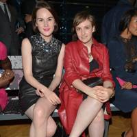 Michelle Dockery and Lena Dunham