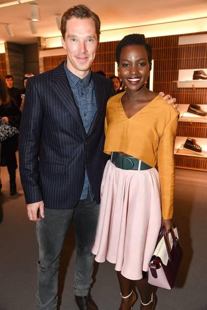 Benedict Cumberbatch & Lupita Nyong'o