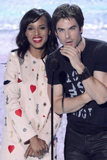 Ian Somerhalder & Kerry Washington