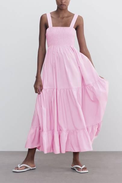 ZARA SUMMER SALE: PINK DRESS