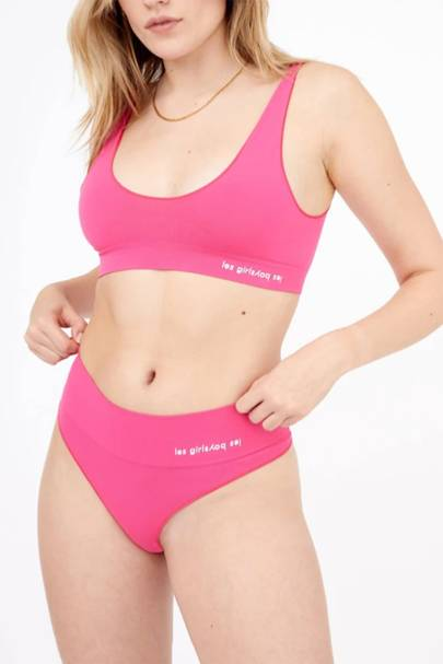 Best colourful pink knickers