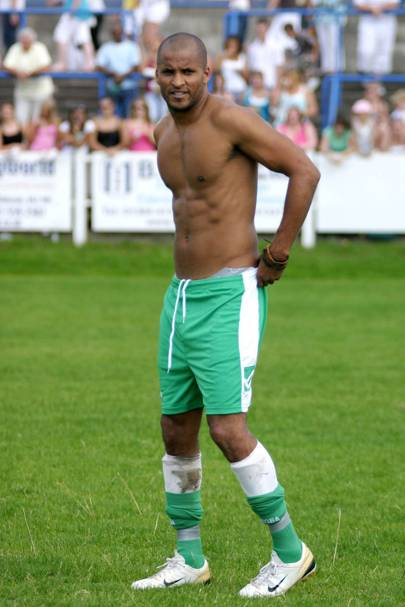 Ricky Whittle - Hollyoaks