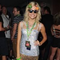 Pixie Lott in the Virgin Media Louder Lounge 2012