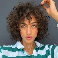 Bob for natural curls