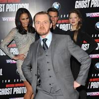 Simon Pegg, Paula Patton, Tom Cruise & Lea Seydoux