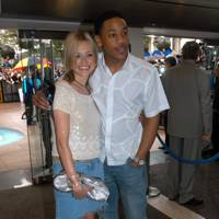 Reggie Yates with Fearne Cotton