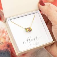 Personalised Mother's Day Gifts: the personalised necklace