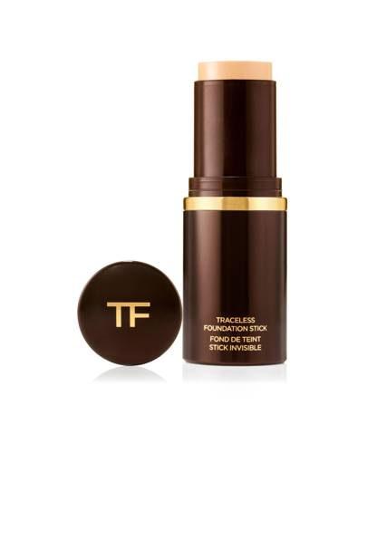 If you want to look and feel of a liquid formula with the convenience of a stick application, Tom Ford's Traceless Foundation Stick is the ...